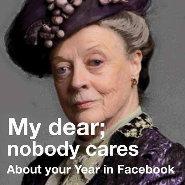 dowager meme year in facebook